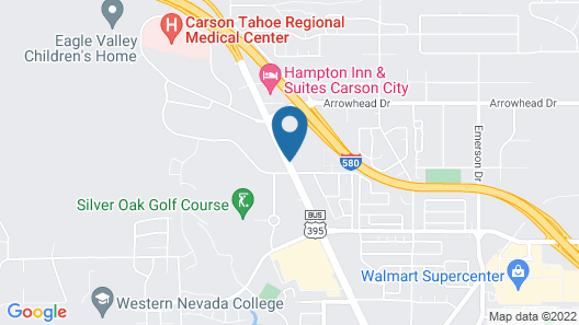 Holiday Inn Express & Suites Carson City Map