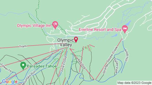 The Village at Palisades Tahoe Map