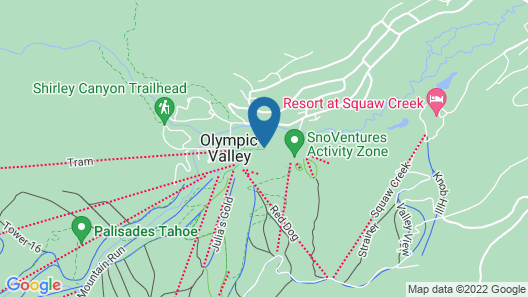 The Village at Squaw Valley Map