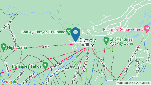 Squaw Valley Lodge Map