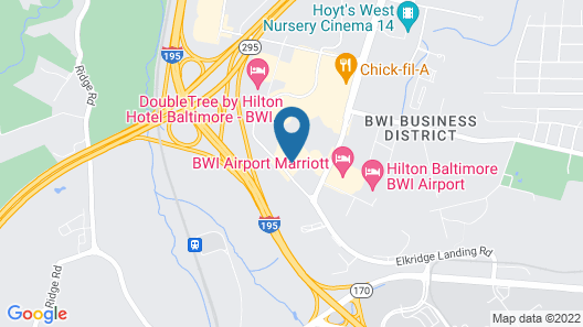Wingate by Wyndham Baltimore BWI Airport Map