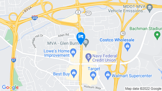 Days Inn by Wyndham Baltimore South/Glen Burnie Map