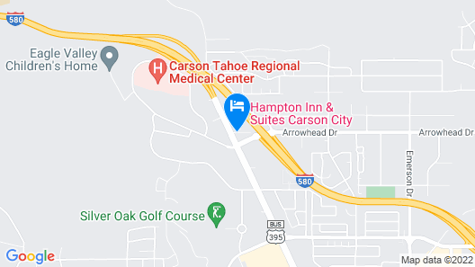 My Place Hotel-Carson City NV Map