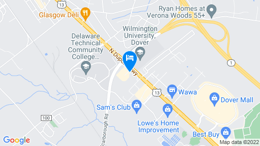 First State Inn Map