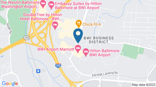 Country Inn & Suites by Radisson, BWI Airport (Baltimore), MD Map