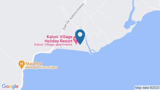 Kaloni village apartments Map