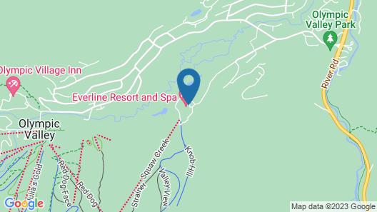Resort at Squaw Creek, a Destination by Hyatt Residence Map