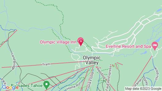 Worldmark by Wyndham Olympic Village Inn Map