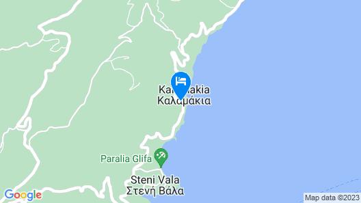 Agnanti Hotel Map