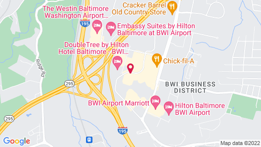 SpringHill Suites by Marriott Baltimore BWI Airport Map