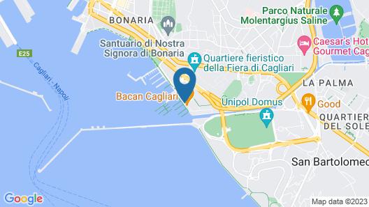 The Homeboat Company Sant'Elmo - Cagliari Map