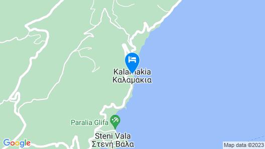 Casa Kalypso Suites & Villa Map