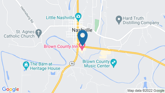 Brown County Inn Map
