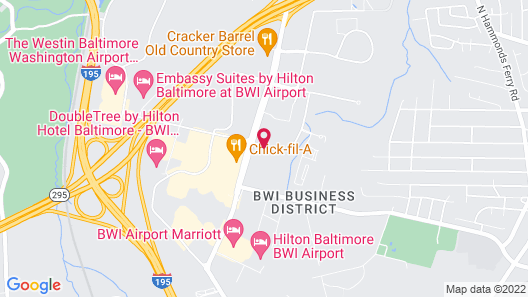 Homewood Suites by Hilton Baltimore-BWI Airport Map