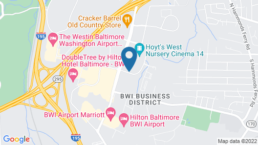 Microtel Inn & Suites by Wyndham BWI Airport Baltimore Map