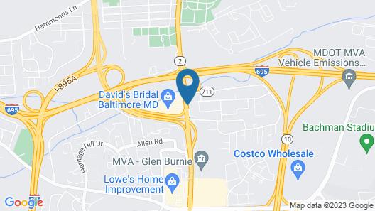 La Quinta Inn & Suites by Wyndham Baltimore S. Glen Burnie Map