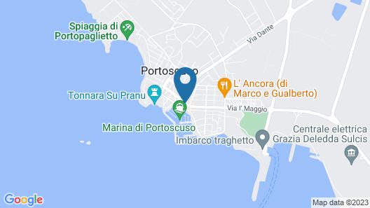Corte Hotel Panorama Map