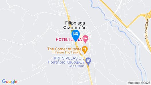 Hotel Iliana Map