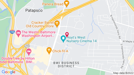 Extended Stay America Suites Baltimore BWI International Dr Map