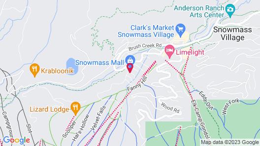 Wildwood Snowmass Map
