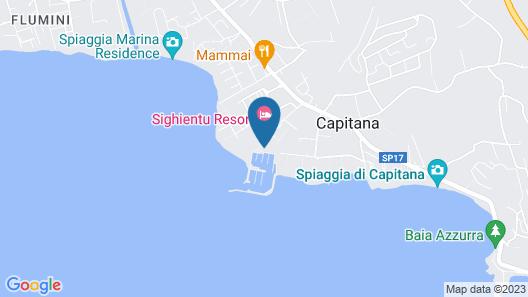 Smy Sighientu Thalasso & Spa Sardegna Map