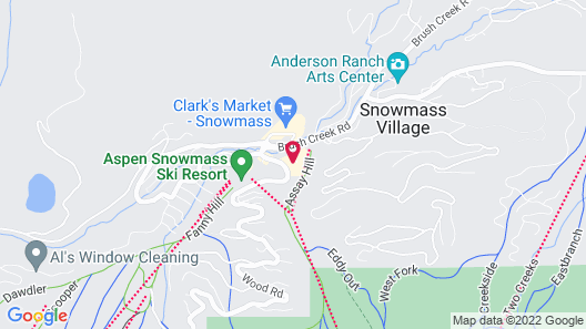 Viceroy Snowmass Map
