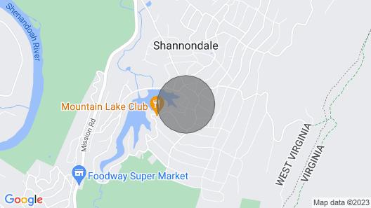 Shannondale Lake House Map
