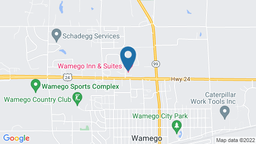 Wamego Inn and Suites Map