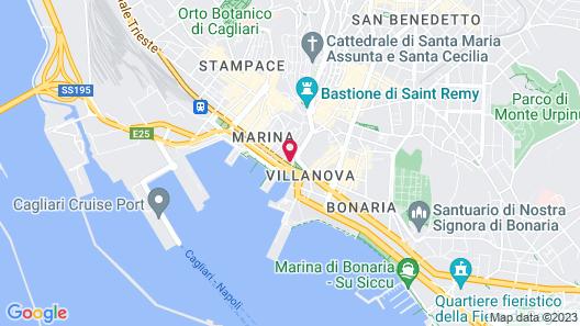 Hotel Aristeo Map