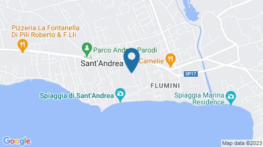 Residence Mar Mediterraneo Map