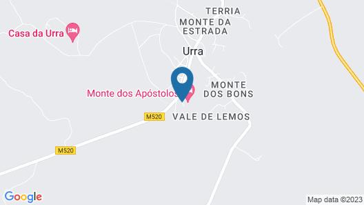 Monte Dos Apóstolos Map
