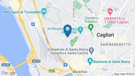 Hotel Villa Fanny Map