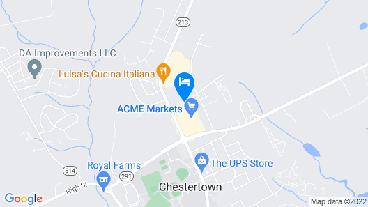 Holiday Inn Express Hotel & Suites Chestertown Map
