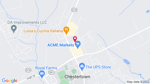 Holiday Inn Express Hotel & Suites Chestertown, an IHG Hotel Map