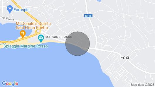 Loft 30 mt far from Poetto Beach Map
