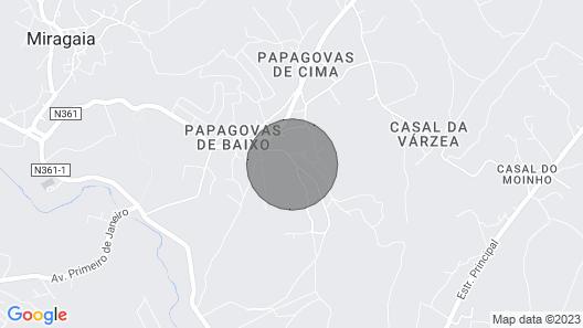 Casa da Eira in Miragaia- Lourinhã Map