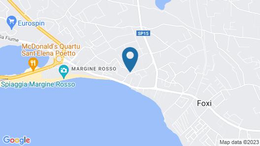Art House Margine Rosso Map