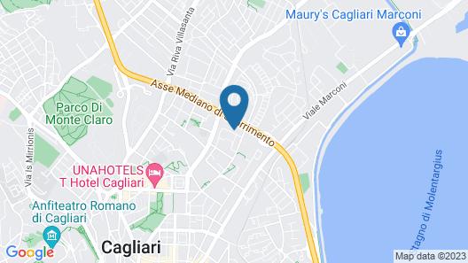 Hotel Residence Ulivi e Palme Map