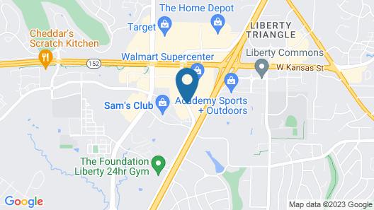 Comfort Suites Kansas City - Liberty Map