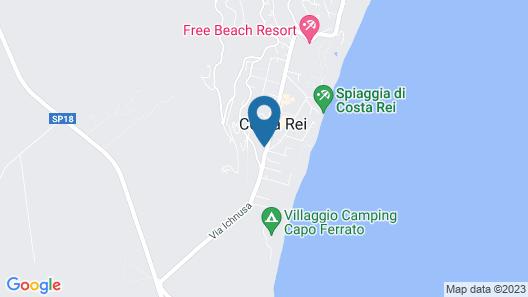 Costa REI Apartments & Villas Map