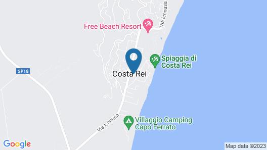Albaruja Hotel Map