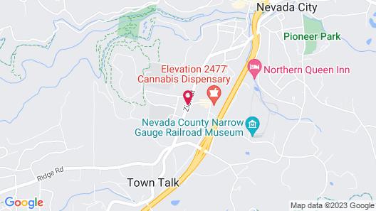 Nevada City Inn Map
