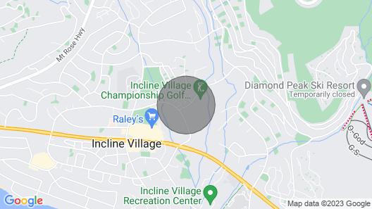 Incline Village Championship Golf Coarse Retreat Map