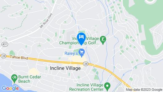CLUB TAHOE Map