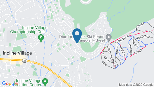 Tahoe Chaparral Map