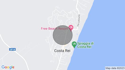 House / Villa - Costa rei Map
