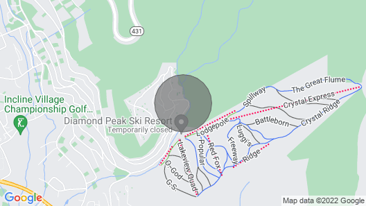 Hike & Bike Toiyabe National Forest View Map