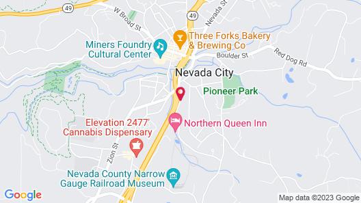 Northern Queen Inn Map