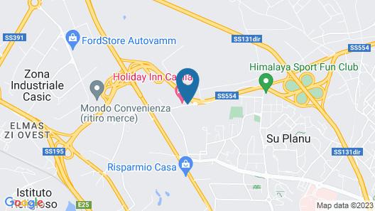 Holiday Inn Cagliari Map