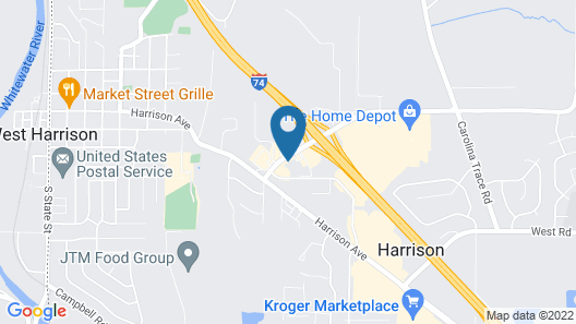 Holiday Inn Express Hotel & Suites Harrison, an IHG Hotel Map